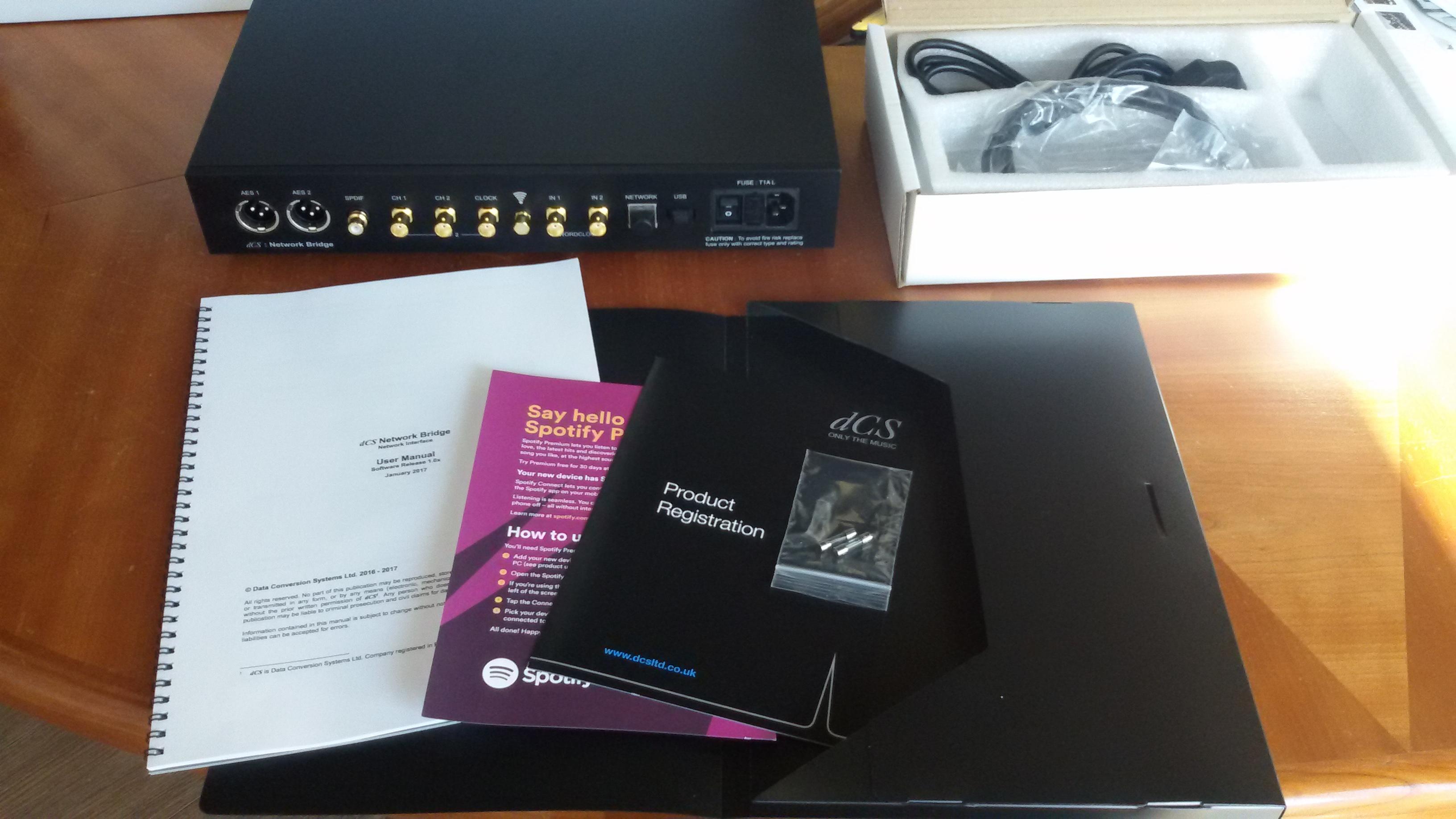 dCS Bridge - A10Audio