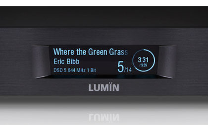 Lumin D2 streamer/dac test.